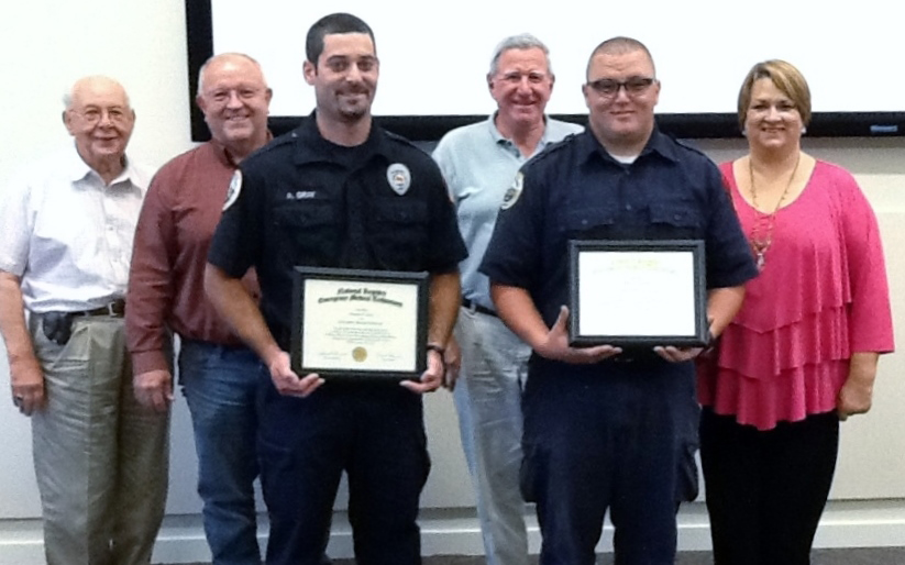 SVFR Board of Directors Recognizes Firefighters