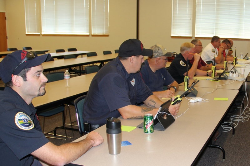 Chief Officers and Captains complete Blue Card Training