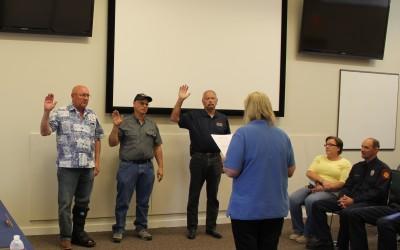 Board Members Sworn In
