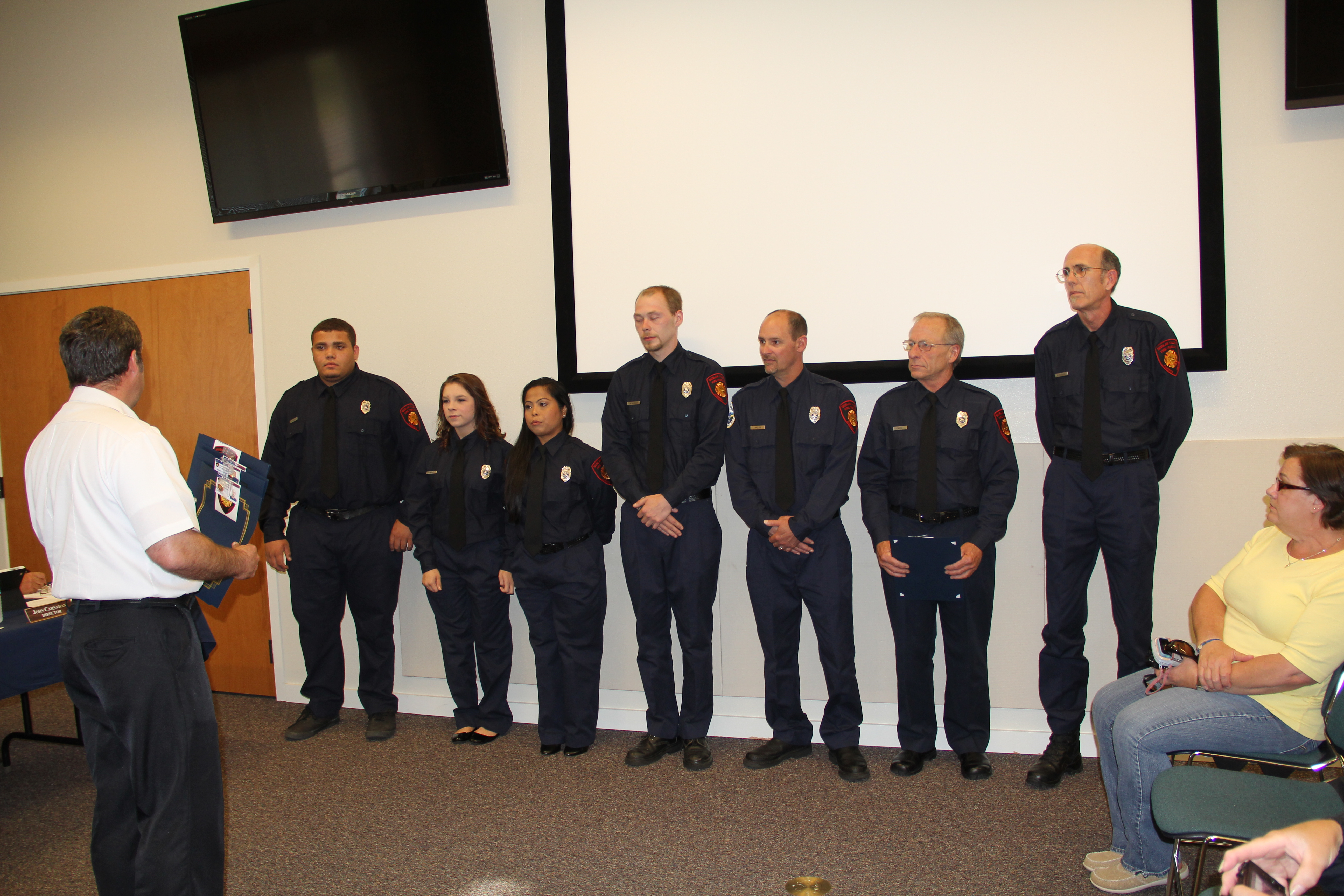New Firefighters Sworn In